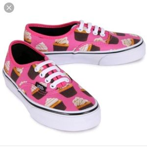 Brand New Vans Late Night Cupcake Shoe